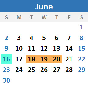 2019-06 June-1